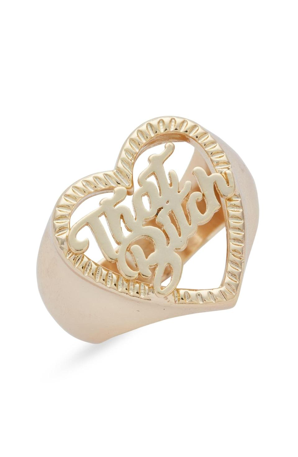 <p>Get them this gorgeous <span>Honey B. That B*tch Ring</span> ($36) to make the ultimate statement. They'll adore this fun find and feel absolutely fabulous!</p>