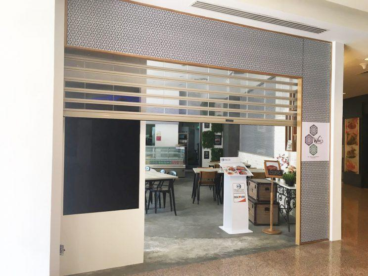 The storefront of Chef Wan's Kitchen, located on the second floor of The Esplanade. (Photo: Nurul Azliah/ Yahoo Lifestyle Singapore)