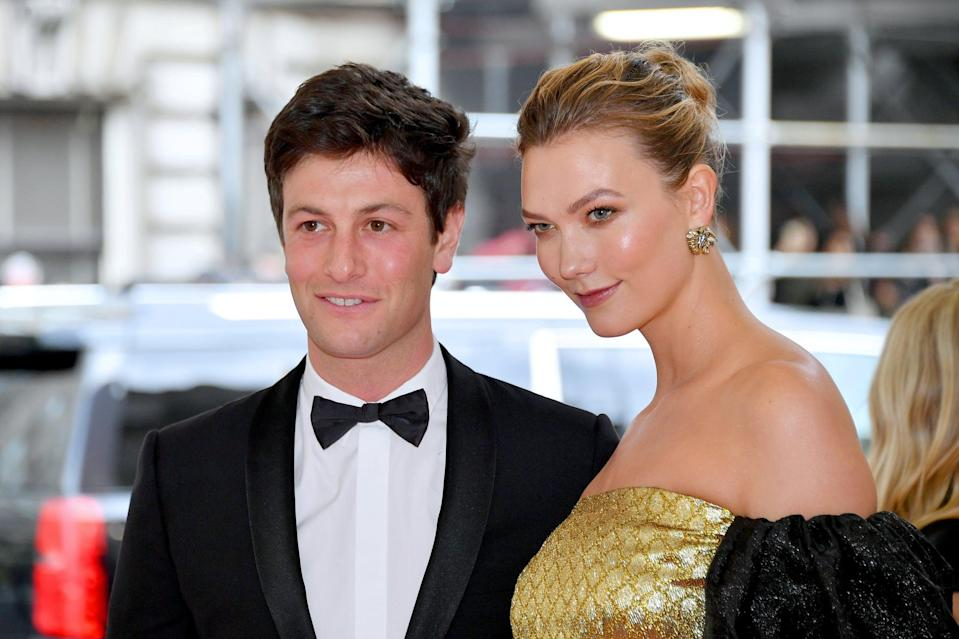 NEW YORK, NEW YORK - MAY 06: Joshua Kushner and Karlie Kloss attend The 2019 Met Gala Celebrating Camp: Notes on Fashion at Metropolitan Museum of Art on May 06, 2019 in New York City. (Photo by Dia Dipasupil/FilmMagic)