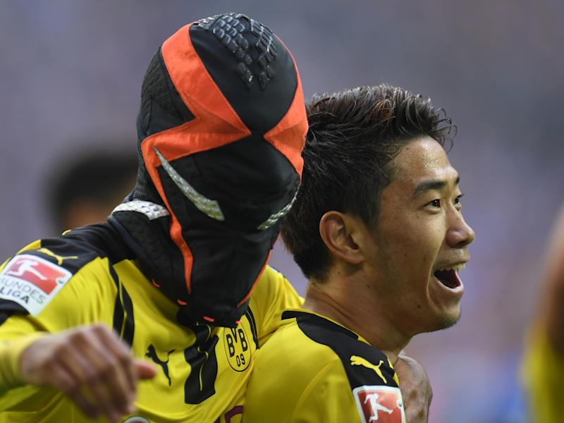 Aubameyang's celebration was criticised as a PR stung: Getty