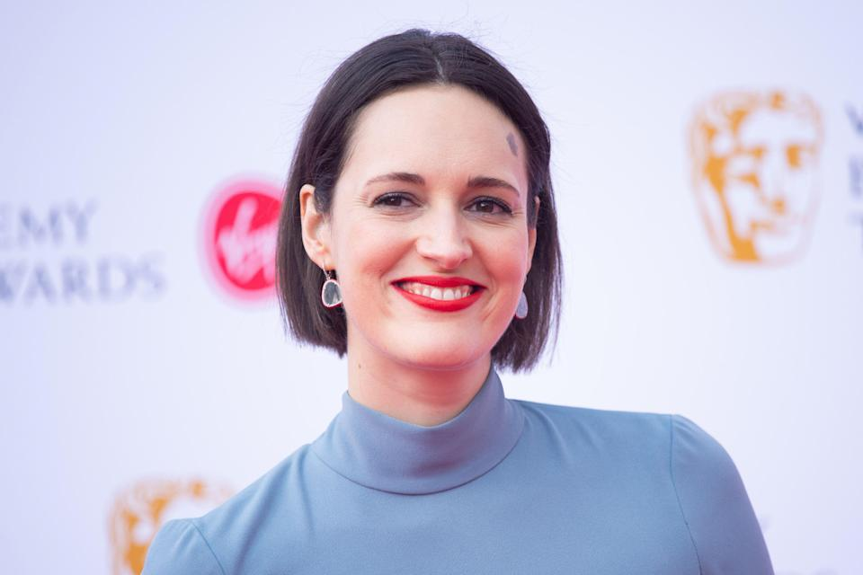 Phoebe Waller-Bridge attending the Virgin Media BAFTA TV awards, held at the Royal Festival Hall in London. PRESS ASSOCIATION Photo. Picture date: Sunday May 12, 2019. See PA story SHOWBIZ Bafta. Photo credit should read: Matt Crossick/PA Wire (Photo by Matt Crossick/PA Images via Getty Images)