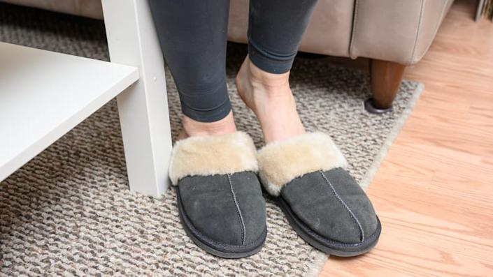 Mom will think of you every morning she steps into her cozy slippers.