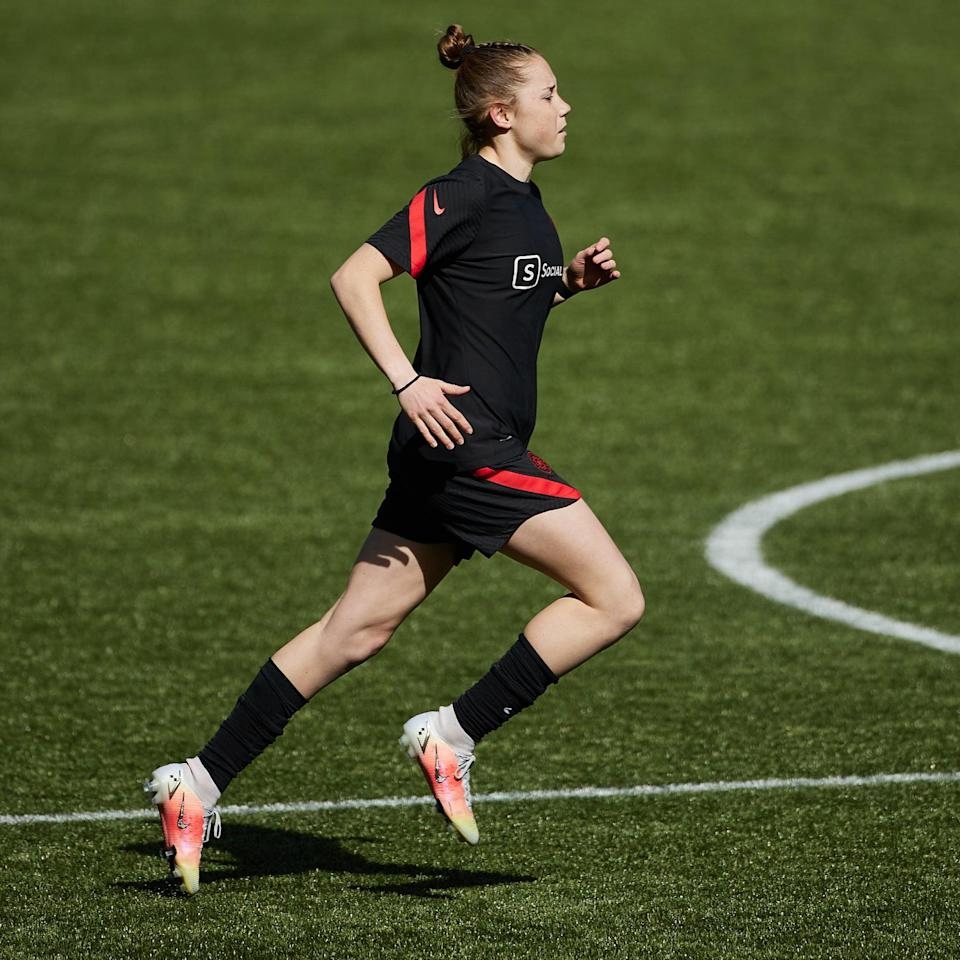 Soccer Phenom Olivia Moultrie, 15, Just Became the Youngest NWSL Player Ever