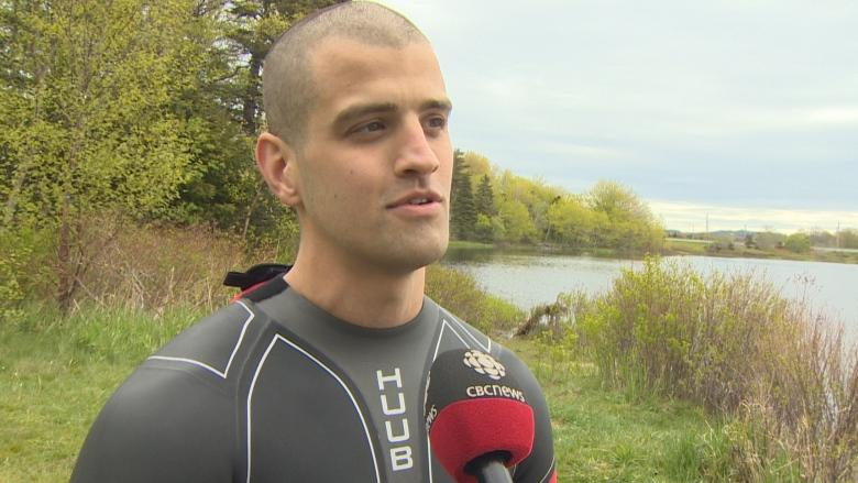 Taking a challenge to intense levels, this athlete competes in 3 extreme triathlons