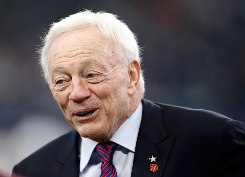 Jerry Jones Sets Sail With $250 Million Dollar 'Superyacht'