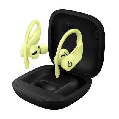 <p>The <span>Beats Powerbeats Pro Wireless Earphones</span> ($170, originally $240) has ear hooks for an extra secure fit. They are sweat and water resistance, perfect for working out. They come in a variety of chic colors such as ivory, moss, black, and yellow.</p>