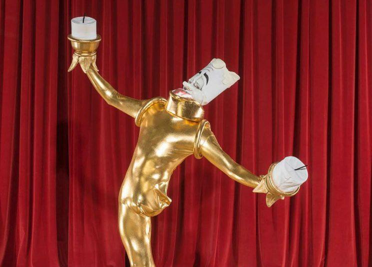 Lumiere... epic new Halloween costume from Josh Sundquist - Credit: Josh Sundquist/Instagram