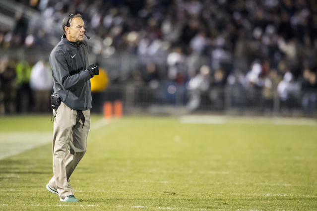 Dantonio is 108-59 at Michigan State. (Getty)
