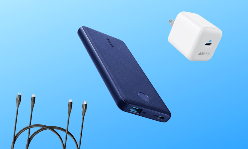 Save up to 45 percent on Anker smartphone and laptop accessories. (Photo: Amazon)