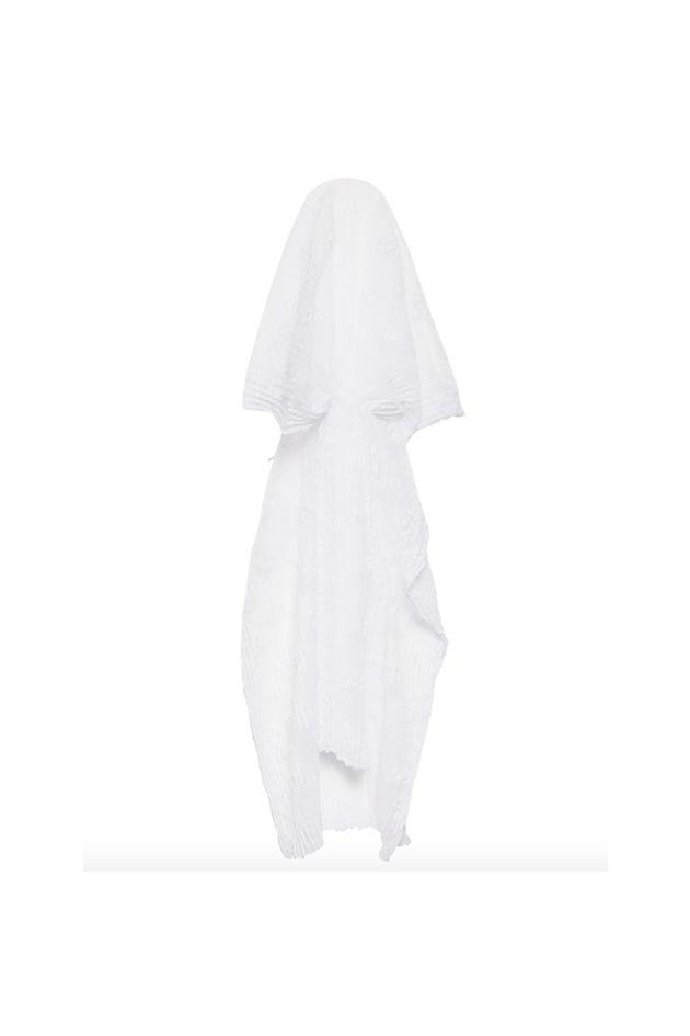 """<p>Ditch the pink penis-embroidered bridal accessory and go with Vetements' white mesh veil from S/S 2019.</p><p><em></em><em>Floral-embroidered pleated mesh veil, $2,309</em></p><a class=""""body-btn-link"""" href=""""https://go.redirectingat.com?id=74968X1596630&url=https%3A%2F%2Fwww.matchesfashion.com%2Fproducts%2FVetements-Floral-embroidered-pleated-mesh-veil--1254893&sref=http%3A%2F%2Fwww.crfashionbook.com%2Ffashion%2Fg27396500%2Fbachelorette-party-las-vegas-shopping-guide%2F"""" target=""""_blank"""">SHOP</a>"""