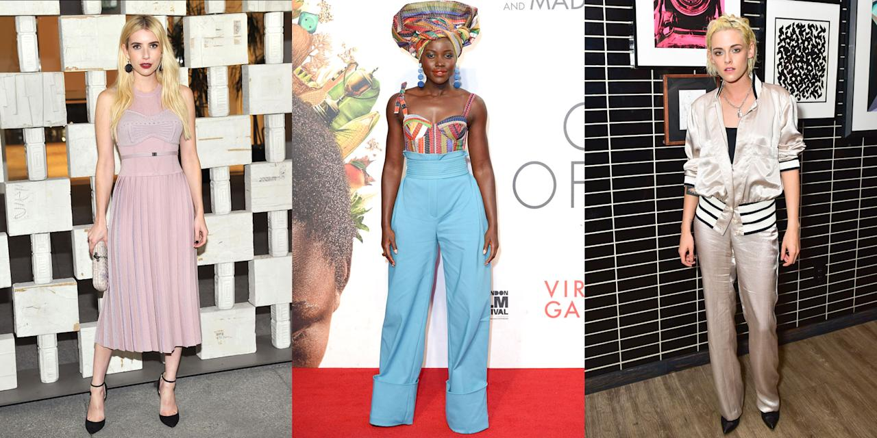 <p>Everything your favorite celebs wore the month of October.</p>