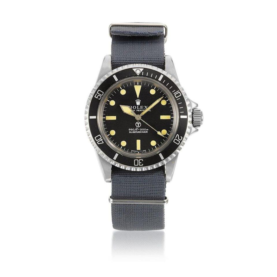 Rolex MilSub 1974 (sold Sotheby's 2020 for £151,200)