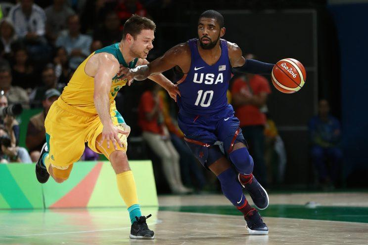 096e3179ab43 Draymond Green on Kyrie Irving s clutch shot against Australia   Too ...
