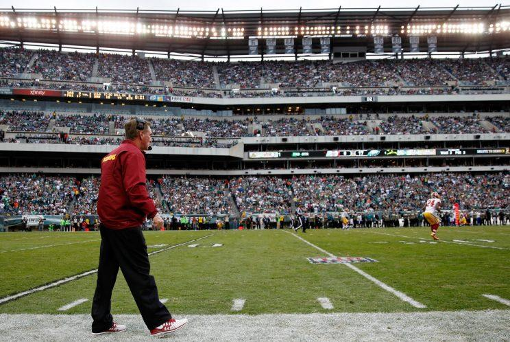 Mike Shanahan's coaching resume includes three head coaching gigs and two Super Bowl titles. (Getty Images)