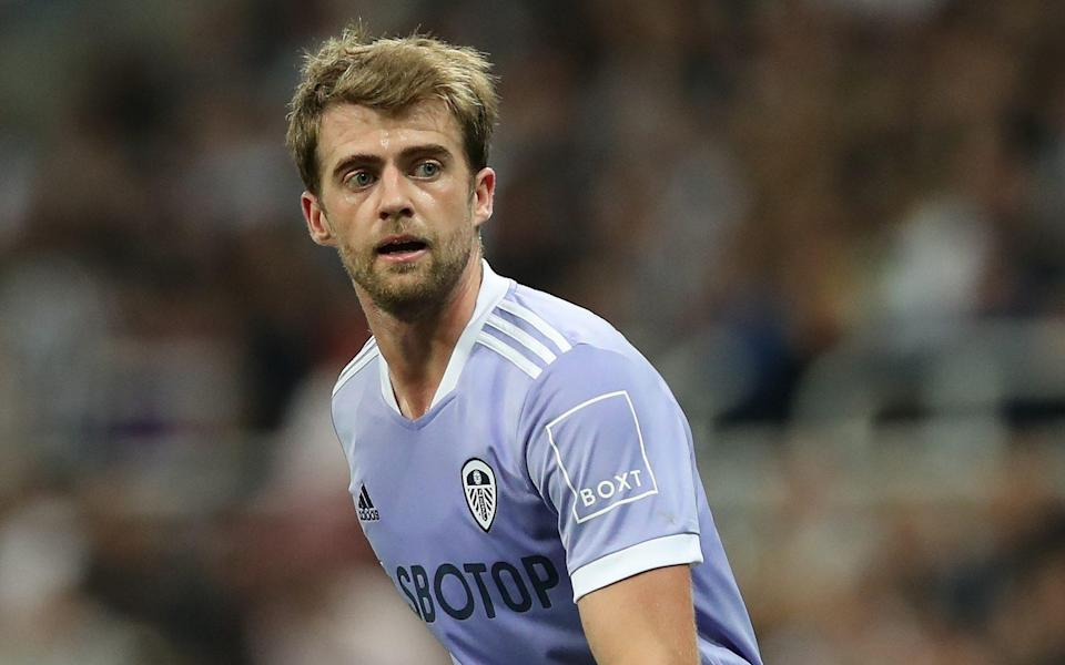 Patrick Bamford of Leeds United is seen in action during the Premier League match between Newcastle United and Leeds United at St. James Park on September 17, 2021 in Newcastle upon Tyne, England - GETTY IMAGES