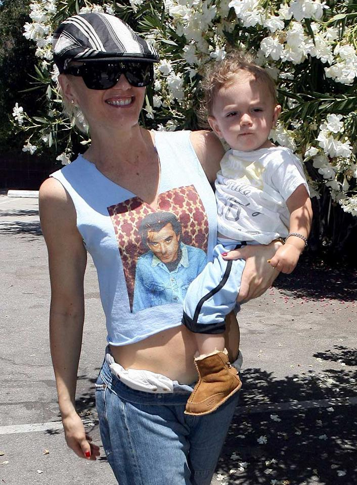 """Gwen Stefani already has plans to expand her family. The singer says she's eager to have more children, but only after she finishes touring and recording another No Doubt album. MWD-WCP/<a href=""""http://www.x17online.com"""" target=""""new"""">X17 Online</a> - June 26, 2007"""
