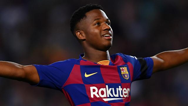 The young attacker has been rewarded for breaking into the first team at Camp Nou with a lucrative new deal, which is set to run through to 2022