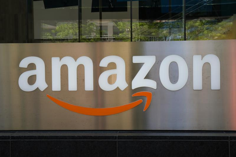 TORONTO, CANADA - 2019/06/27: An Amazon logo seen outside a building in Toronto. (Photo by Dinendra Haria/SOPA Images/LightRocket via Getty Images)