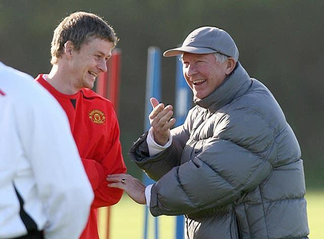 Solskjaer revealed how he was told he would miss a key Champions League game by manager Sir Alex Ferguson.