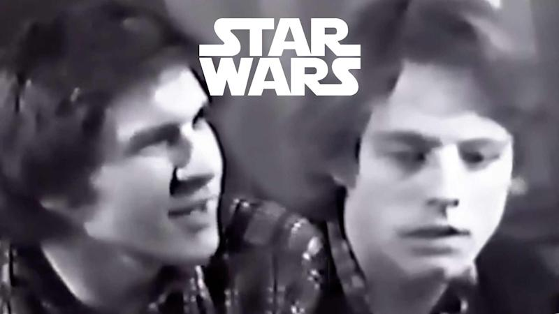 Mark Hamill and Harrison Ford's 'Star Wars' screen test revealed