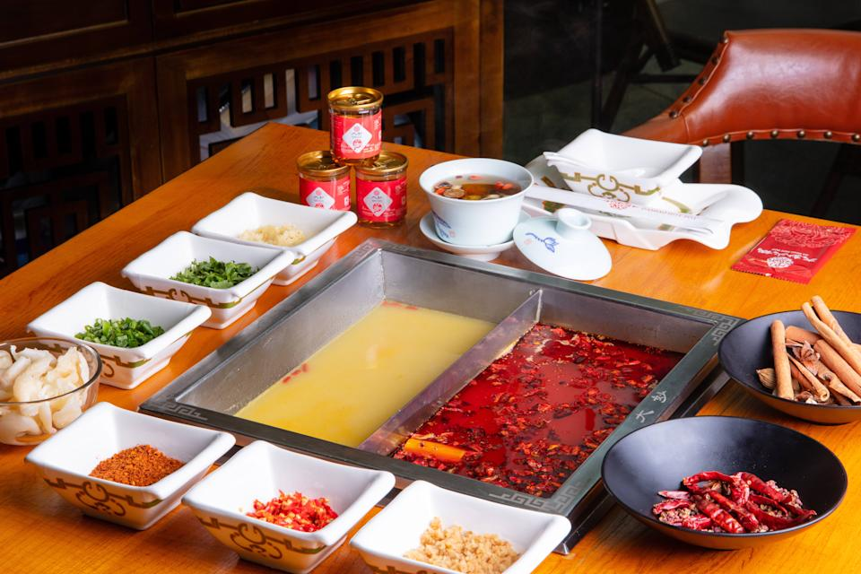 Beauty Collagen and Special Spicy Hot Pot. (PHOTO: Da Miao Hot Pot)