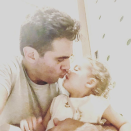 "<p>Rose Byrne's main men shared a smooch in this sweet pic. The <em>Mr. Robot</em> star affectionately tags all photos of Rocco, 1, with ""#TheRock."" (Photo: <a rel=""nofollow noopener"" href=""https://www.instagram.com/p/BcBcHoUnYao/?taken-by=bobby_cannavale"" target=""_blank"" data-ylk=""slk:Bobby Cannavale via Instagram"" class=""link rapid-noclick-resp"">Bobby Cannavale via Instagram</a>) </p>"