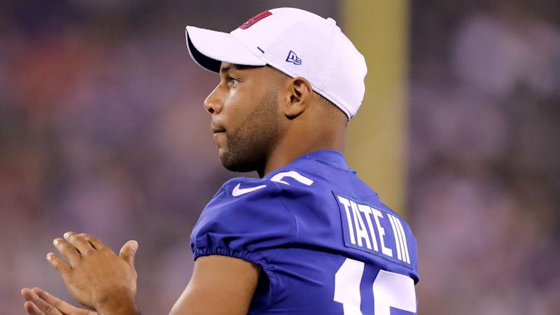 Golden Tate's appeal denied, Giants wide receiver will serve four-game suspension