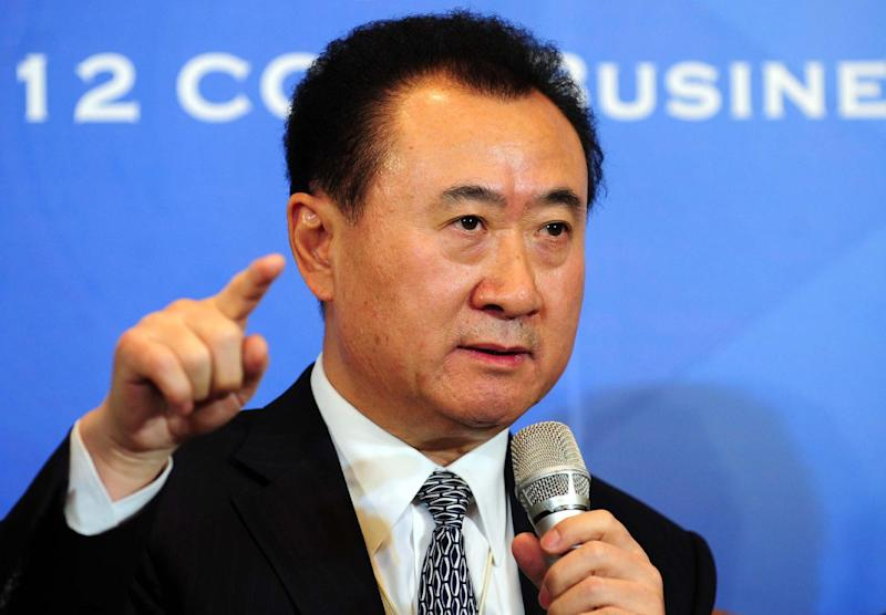 Wang Jianlin, one of China's richest men and head of the Wanda Group conglomerate, which is in talks to acquire a stake in film studio Lions Gate Entertainment