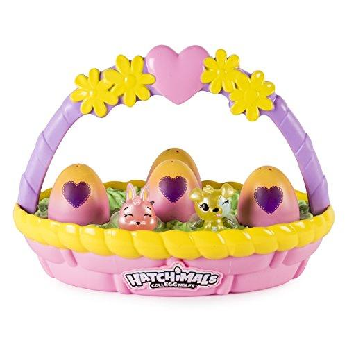 """<p><strong>Hatchimals</strong></p><p>amazon.com</p><p><strong>$13.05</strong></p><p><a href=""""https://www.amazon.com/dp/B075K98LJW?tag=syn-yahoo-20&ascsubtag=%5Bartid%7C10055.g.26538895%5Bsrc%7Cyahoo-us"""" target=""""_blank"""">Shop Now</a></p><p>Okay, this basket may be missing chocolate eggs but it's full of the ones that really matter to your kid: six pastel Hatchimals CollEGGtibles. The basket even comes with two additional empty nests, so they can tote around some of the Hatchimals that they already have.  </p><p><strong>RELATED: </strong><a href=""""https://www.goodhousekeeping.com/holidays/easter-ideas/g5073/easter-toys/"""" target=""""_blank"""">The Best Toys to Buy for Easter</a></p>"""