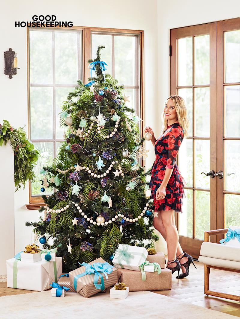 Lauren Conrad's Vintage Christmas Tree Will Give You an Instant Boost of Cheer