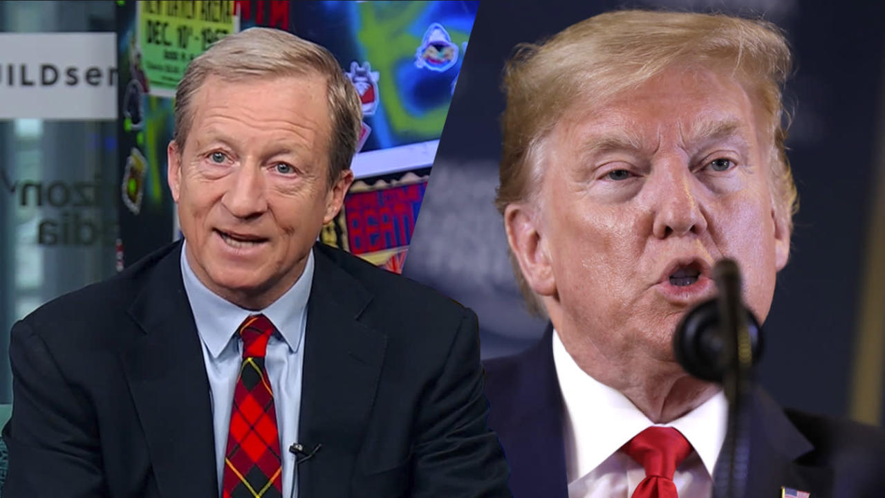 Steyer on Trump: As long as he's tweeting at me, he's scared of me