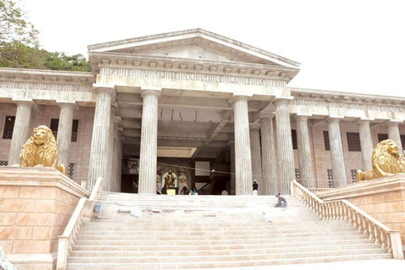 Temple of Leah in trouble