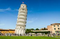 "If you've ever wondered why the Leaning Tower of Pisa is tilted, it's due to the soft soil beneath the building's surface. And while that might have frustrated the people who constructed the landmark, engineers have figured out that the soft soil is partially what protects the building from earthquakes. The tower's height and stiffness as well as the softness of the soil at the building's foundation ""causes the vibrational characteristics of the structure to be modified substantially, in such a way that the <a href=""https://phys.org/news/2018-05-year-old-tower-pisa-mystery-unveiled.html"" rel=""nofollow noopener"" target=""_blank"" data-ylk=""slk:Tower does not resonate with earthquake"" class=""link rapid-noclick-resp"">Tower does not resonate with earthquake</a> ground motion,"" according to <em>Phys.org</em><em>.</em>"