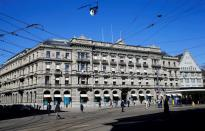 FILE PHOTO: The headquarters of Swiss bank Credit Suisse are seen in Zurich