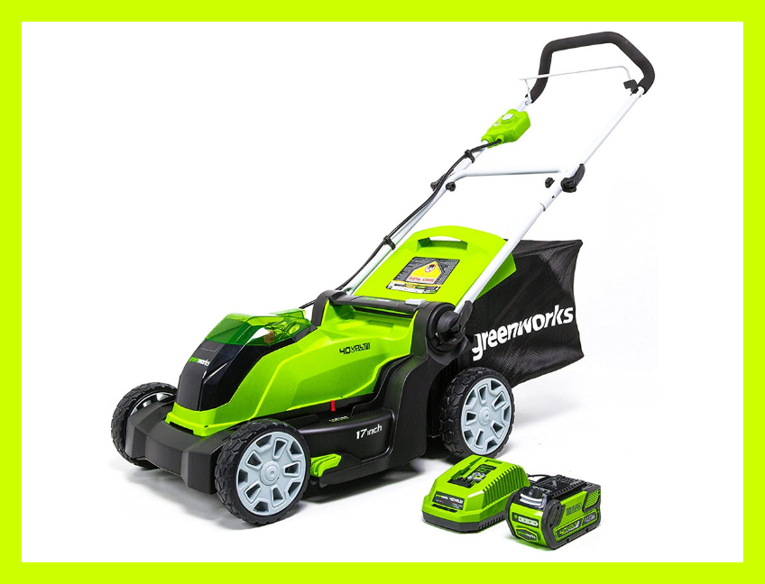 This ain't your childhood manual push mowers. (Photo: Amazon)
