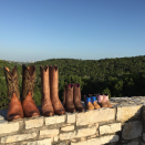 """<p>The <em>Supernatural</em> star and Texas native 'grammed a precious photo in August 2016, revealing he and wife Danneel were expecting twins.</p><p>""""Adding a couple of pairs of boots to the family later this year,"""" <a href=""""https://www.instagram.com/p/BI8Dc1gBKig/"""" rel=""""nofollow noopener"""" target=""""_blank"""" data-ylk=""""slk:he wrote"""" class=""""link rapid-noclick-resp"""">he wrote</a>. Jensen shared twins Zepplin and Arrow were born in December 2016, initially <a href=""""https://www.instagram.com/p/BNk8UVkBTw8/"""" rel=""""nofollow noopener"""" target=""""_blank"""" data-ylk=""""slk:posting a photo"""" class=""""link rapid-noclick-resp"""">posting a photo</a> of Thing 1 and Thing 2 from Dr. Seuss. A month later, he'd <a href=""""https://www.instagram.com/p/BPDs_0OFmjS/"""" rel=""""nofollow noopener"""" target=""""_blank"""" data-ylk=""""slk:share a pic"""" class=""""link rapid-noclick-resp"""">share a pic</a> of the twins.</p><p>The couple already had one daughter, Justice Jay, aka JJ, who was born in May 2013.</p>"""