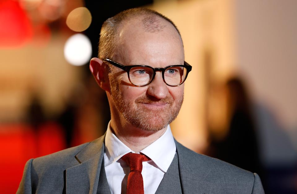 Mark Gatiss attending the UK premiere of The Favourite at the BFI Southbank for the 62nd BFI London Film Festival (Photo by David Parry/PA Images via Getty Images)