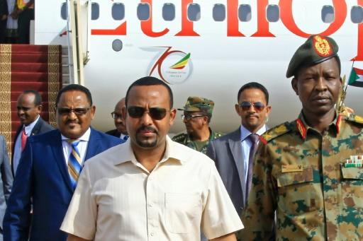 Ethiopia's army chief, Seare Mekonnen, (C in the background) was on of those shot dead in a wave of violence highlighting the political instability