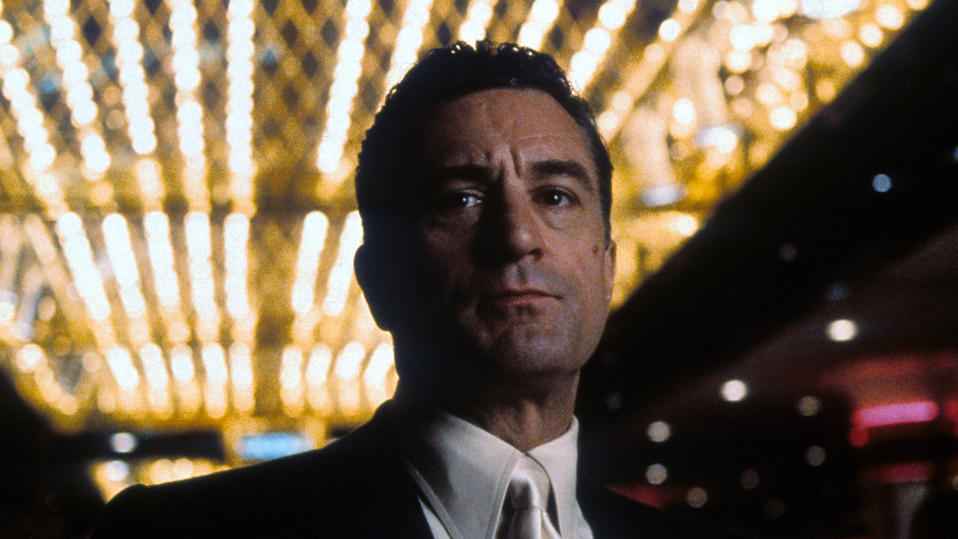 Robert De Niro in a scene from the film 'Casino', 1995. (Photo by Universal Pictures/Getty Images)