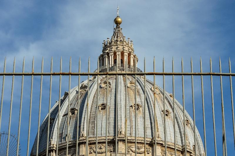 The Vatican has been widely criticised for pursuing the prosecution of two Italian journalists over leaks which they used as the basis for books depicting irregularities and extravagance in the Holy See's spending (AFP Photo/Andreas Solaro)
