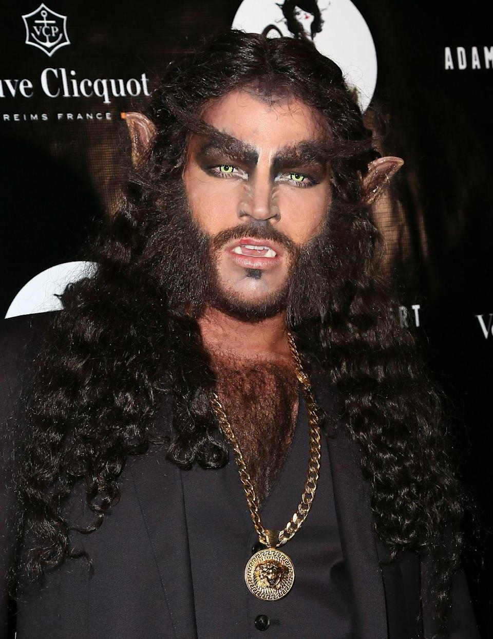 <p>Singer Adam Lambert gave us a scare at his 2nd Annual Halloween Bash at Bootsy Bellows in 2014.</p>
