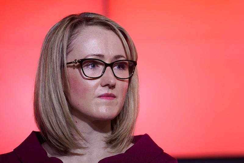 Rebecca Long-Bailey also enjoys the backing of the left-wing grassroots group Momentum: Getty