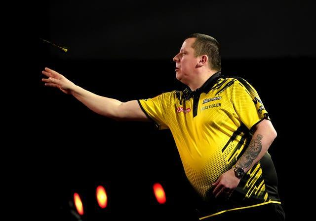 Dave Chisnall found himself two sets down