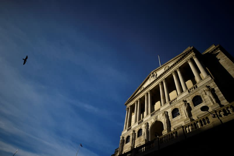 Bank of England says will offer new U.S. dollar funds from Wednesday