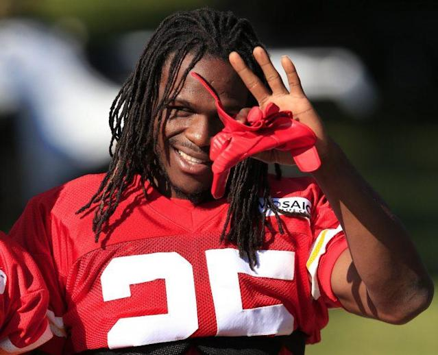Jamaal Charles is visiting the Broncos this week. (AP)
