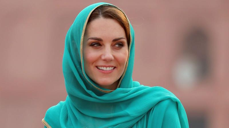 Kate Middleton gave a rare television on Thursday to talk about her and Prince William's royal tour of Pakistan.