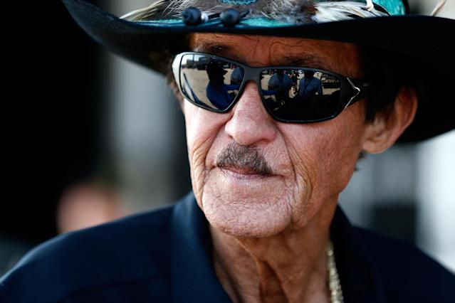 Richard Petty said not standing at attention for the national anthem showed protesters' lack of appreciation for the United States. (Jeff Zelevansky via Getty Images)