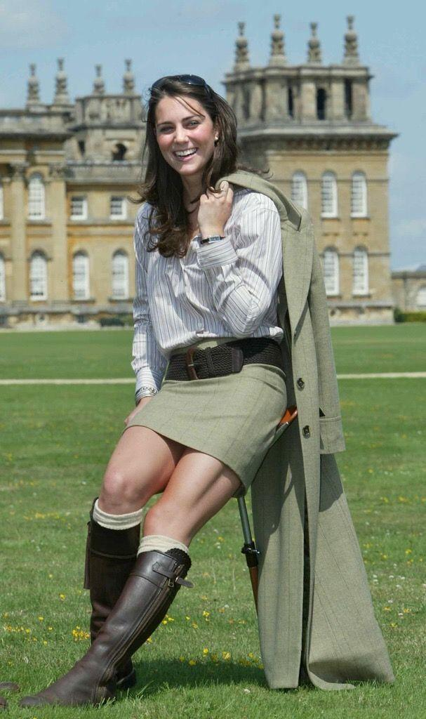 <p>Middleton posed on the lawn of Blenheim Palace in Oxfordshire during the Game Fair, a countryside festival that celebrates rural England.</p>