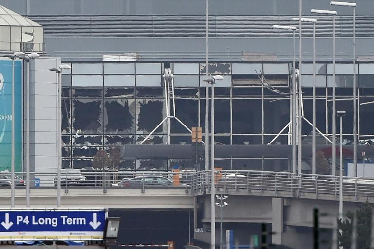 Brussels airport was shut for more than a month after the bomb blasts in main terminal