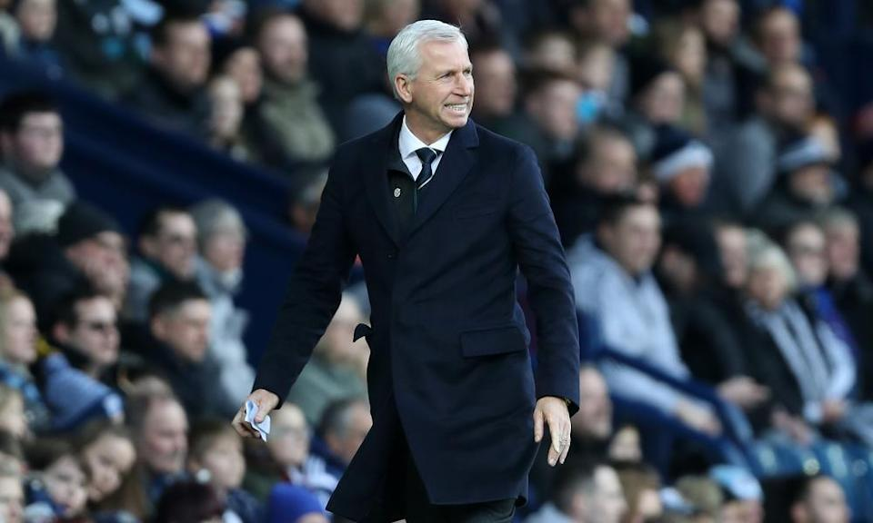 Alan Pardew has struggled to revive West Brom since he took over in November.